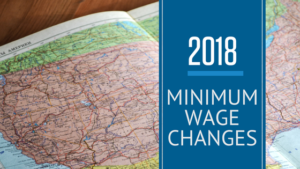 2018 Minimum Wage Changes