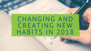 Starting New Habits 2018